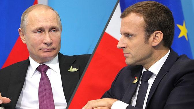 Путин и Макрон заявили о важности соблюдения режима прекращения огня в Нагорном Карабахе