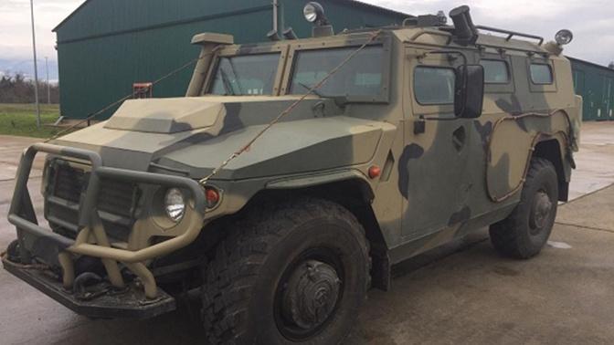 Разведчики в Северной Осетии получили бронеавтомобили «Тигр-М»
