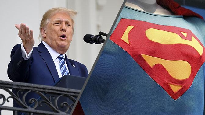 Трамп рассказал, что почувствовал себя суперменом после принятия лекарства