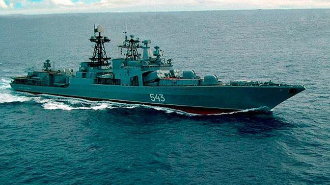 «Вооруженный до зубов»: в США оценили модернизированный фрегат «Маршал Шапошников»