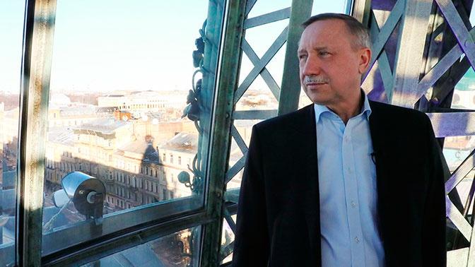 Губернатор Санкт-Петербурга перешел на дистанционный режим работы