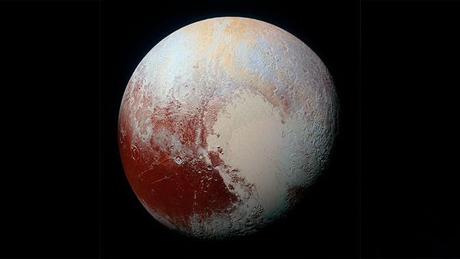 Раскрыта тайна заснеженных вершин Плутона