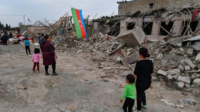 В Азербайджане сообщили о смерти человека после ракетного удара по Гяндже