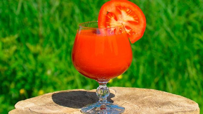 Ученые назвали неожиданное полезное свойство томатного сока