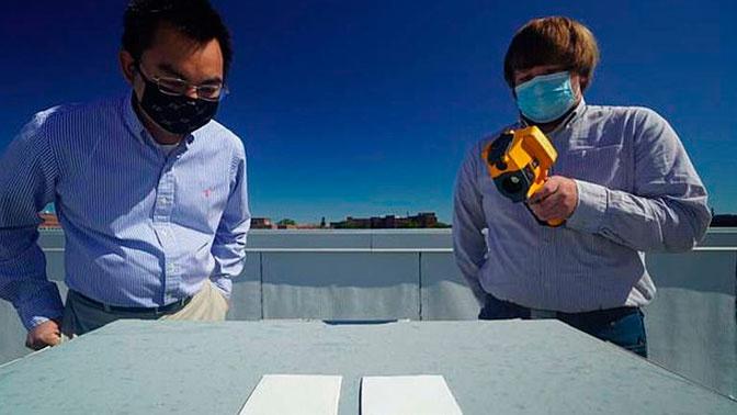 Ученые создали супербелую краску, способную охлаждать поверхности