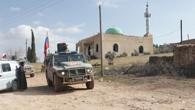 Состоялось 103-е совместное российско-турецкое патрулирование в провинции Алеппо