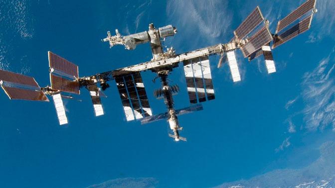 Странный неопознанный объект сняли с борта МКС