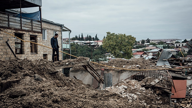Песков: Турцию можно привлечь к разрешению конфликта в Нагорном Карабахе только с согласия Азербайджана и Армении