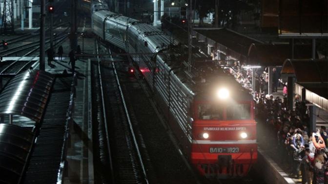 Между Симферополем и Астраханью запустят поезда