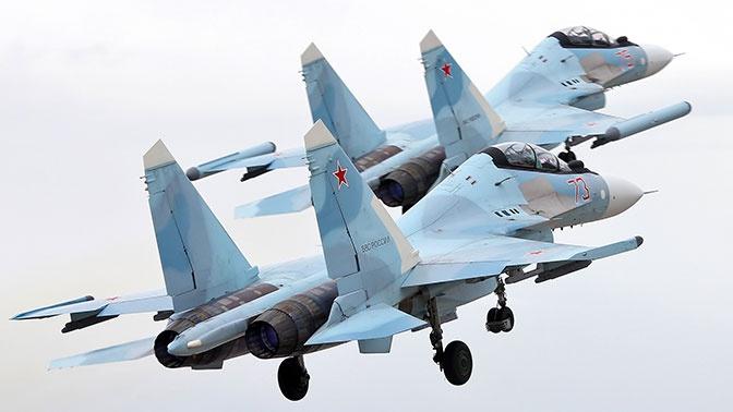 Высший пилотаж: летчики ЗВО раскрыли потенциал сверхманевренных Су-35С в небе Карелии