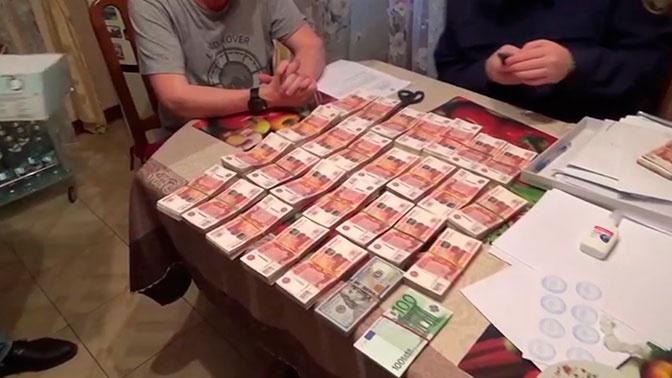 Портрет в мундире и пачки денег: ФСБ показала видео обысков в доме экс-главы Челябинска