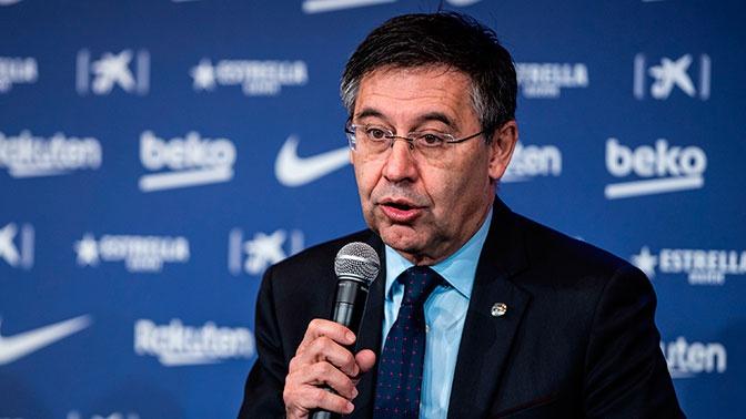 Президент ФК «Барселона» Хосеп Бартомеу покинул свой пост