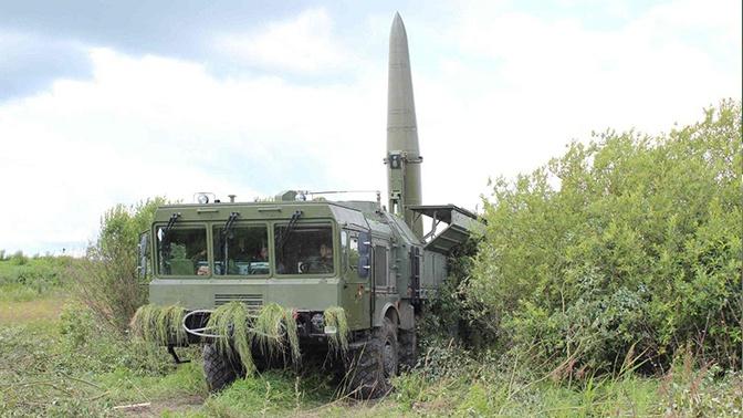«Искандеры» нанесли удар по «противнику» в Калининградской области