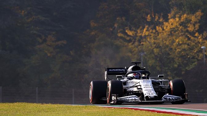 Даниил Квят занял 4-е место на Гран-при «Формулы-1»