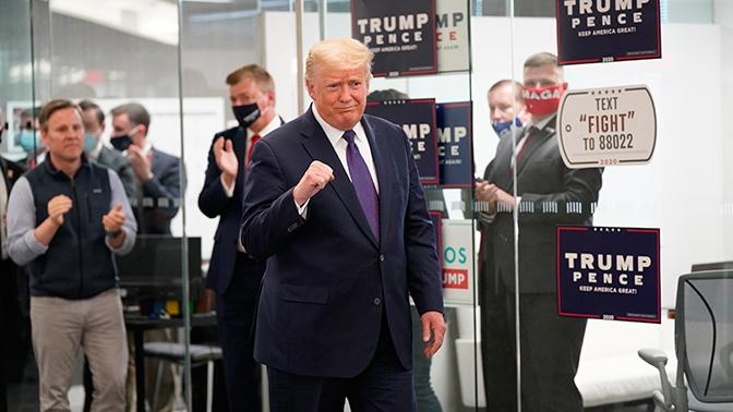 Трамп заявил, что Республиканская партия лидирует на выборах в США