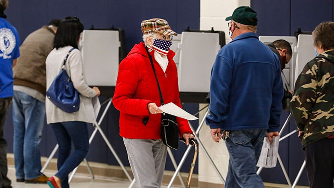 В США завершилось голосование на выборах президента
