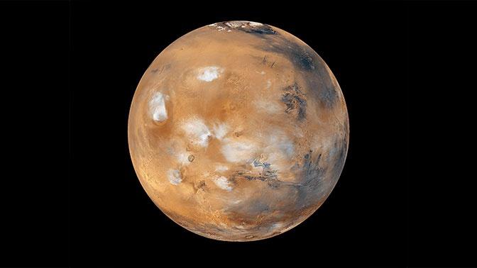 Астрономы обнаружили фрагмент Луны на орбите Марса