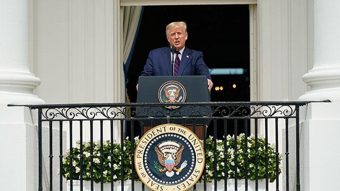 Трамп ответил на объявление СМИ о победе Байдена на президентских выборах