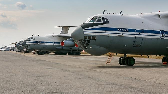 В Карабах из Ульяновска вылетели еще пять самолетов с миротворцами