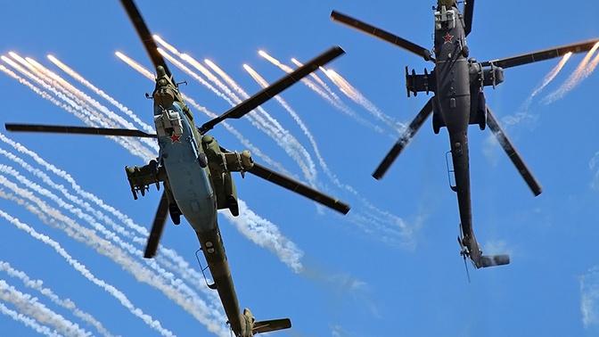 «Охотник» российской авиации: фото вертолета Ми-28