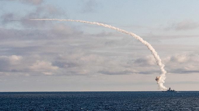 Фрегат «Адмирал Касатонов» из Белого моря поразил ракетой «Калибр» цель под Архангельском