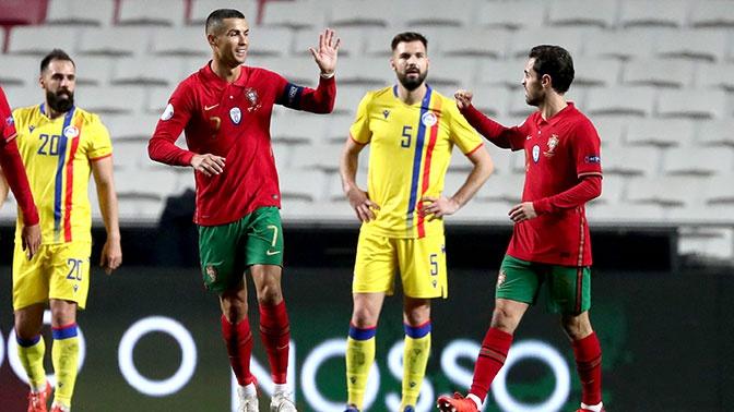 Роналду прокомментировал свою сотую победу в составе сборной Португалии