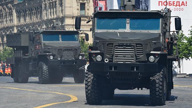 Тяжелая огнеметная система ТОС-2 проходит опытную эксплуатацию в войсках
