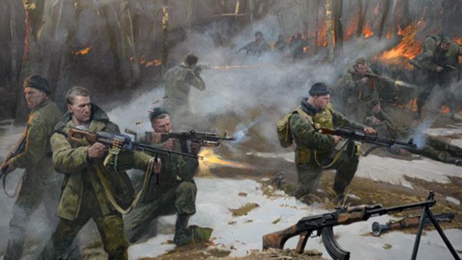 В музее истории ВДВ в Рязани открыли диораму в честь подвига десантников РФ у высоты 776