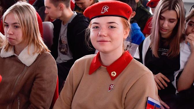 Юнармеец Виктория Апостолова вошла в число победителей конкурса «Большая перемена»