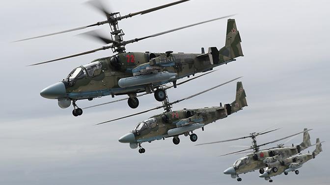 Минобороны РФ получило все заказанные на 2020 год вертолеты Ка-52