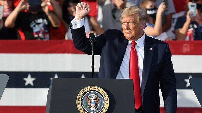 Трамп вновь заявил о своей победе на выборах президента США