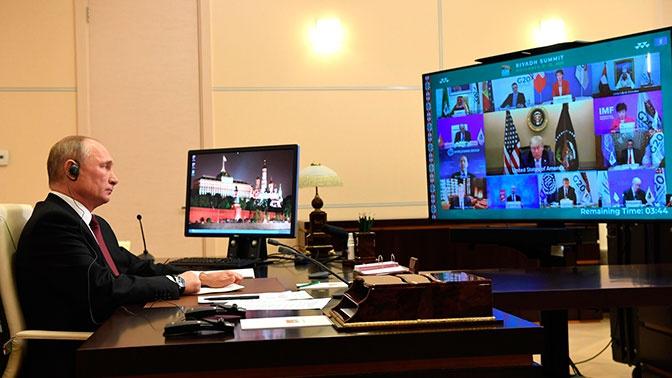 Путин призвал отказаться от санкционной политики в мире