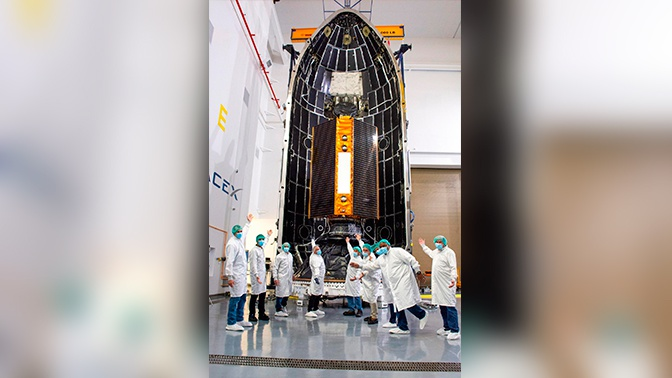 SpaceX успешно запустила новейший метеорологический спутник
