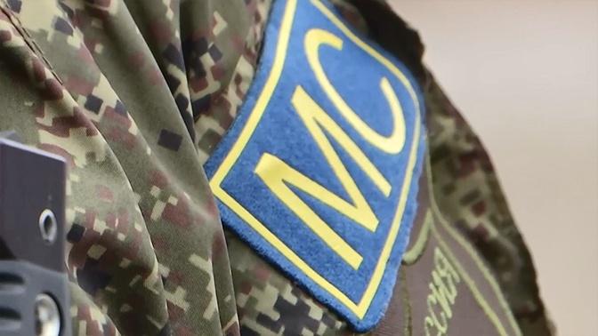 Российский миротворец получил ранение при взрыве мины в Карабахе