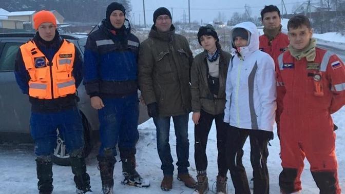 Пропавших студентов спасли из заброшенной каменоломни в Москве