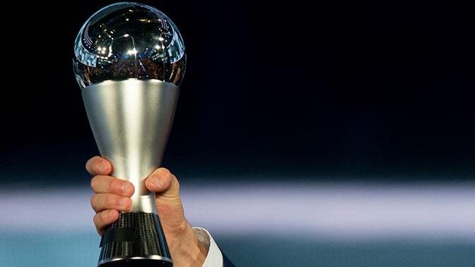 ФИФА назвала претендентов на приз лучшему футболисту года