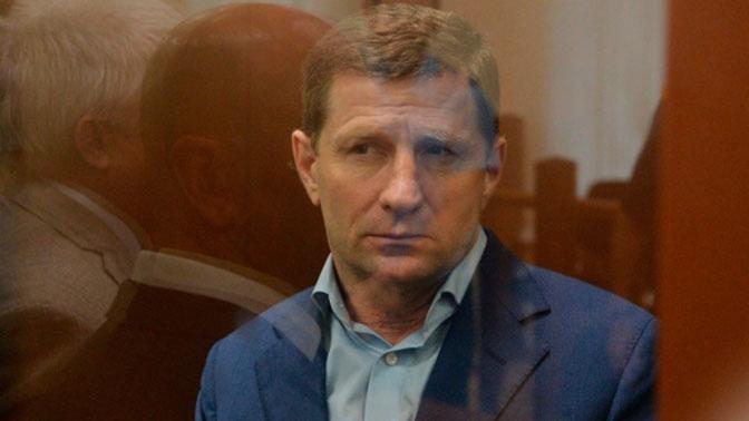 Суд продлил арест экс-губернатору Хабаровского края Сергею Фургалу