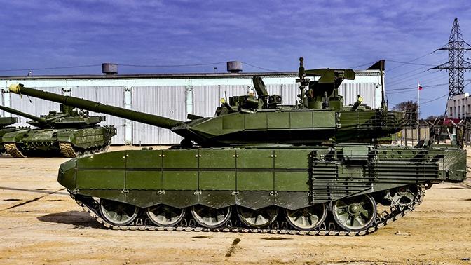 Российские военные получили партию новых танков Т-90М