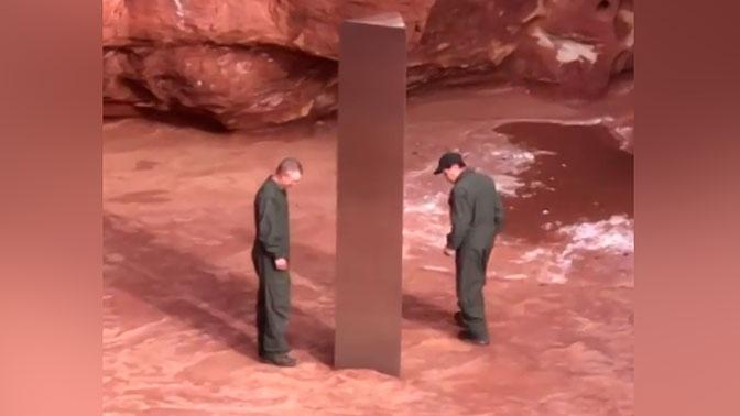 Разгадана тайна найденного в пустыне США металлического монумента