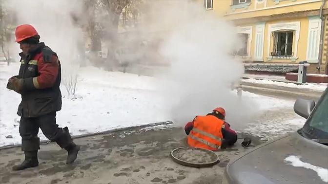 Офис правительства и десятки жилых домов без тепла: что происходит в Новосибирске из-за прорыва трубопровода