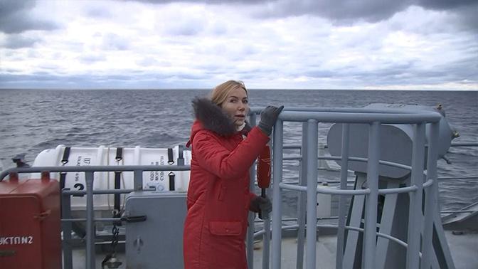 «Павел Державин» вошел в состав Черноморского флота: кадры с борта корабля