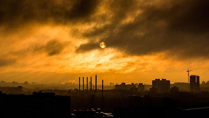 В Новосибирске введен режим «черного неба»