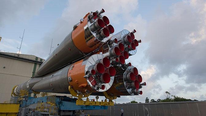 Пуск ракеты «Союз-СТ» с космодрома Куру перенесли на сутки