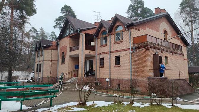 В доме престарелых в Подмосковье из-за задымления эвакуировали более 50 человек