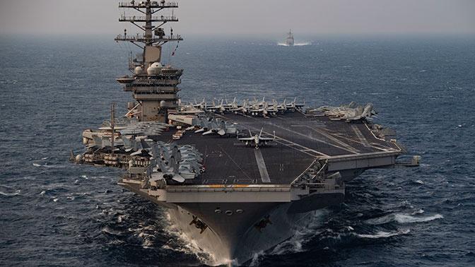 СМИ сообщают об отправке американского авианосца USS Nimitz в Персидский залив