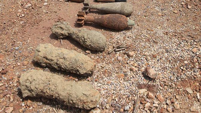 На базе итальянского клуба «Рома» нашли снаряды времен войны