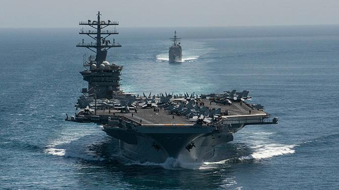 Авианосец ВМС США USS Nimitz вошел в Персидский залив