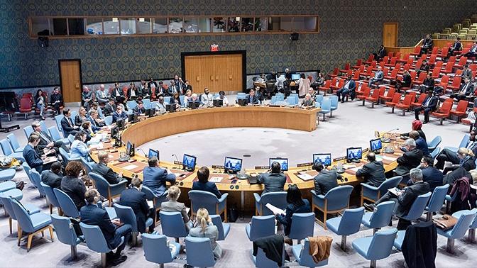 Украина решила бойкотировать встречу Совбеза ООН