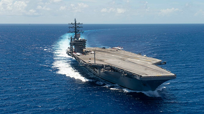В США намерены возродить Атлантический флот для противостояния России
