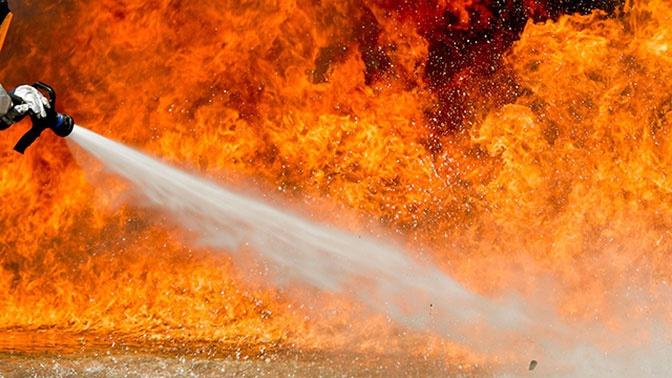 В центре Москвы загорелась Городская клиническая больница №63